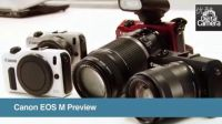 Canon EOS M Mirrorless Camera Hands on