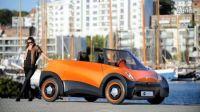 「ECOmove」创新型电车QBEAK:一次充电可行驶800km