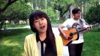 吉他弹唱  似火年华(郝浩涵和孙小猴)
