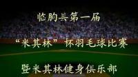 潍坊市临朐县第一届米其林杯羽毛球比赛