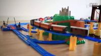 Tomy 多美 托马斯 电动 小火车 轨道 3 搬运套装 小小过山车 过吊桥 码头
