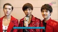 【co-sehun】EXO-K 2012MAMĄ 后台采访