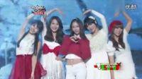 音乐银行 121221 高清中字 f(x) MissA Kara 4Minute