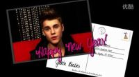 超清Justin Bieber 为歌迷拜年  2013后台 采访
