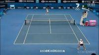 2008澳大利亚网球公开赛女单QF 莎拉波娃VS海宁 (自制HL)