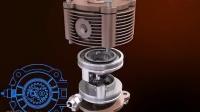 04中国人设计的发动机-尚世群 潜式·微型椭圆齿轮发动机