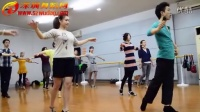 深圳舞蹈网培训基地 罗湖校区 拉丁舞班基础练习