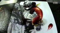 国贸79餐厅2011年秋冬季菜单发布活动 (油画)