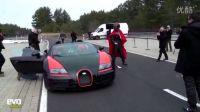 中国人刘旭驾驶世界最快敞篷车破记录 Veyron Vitesse