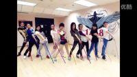 南京1758爵士舞工作室Tinana导师Jazz基础拐杖舞《Sexy silk》舞蹈教学展示