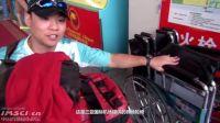 两个轮椅人独立乘机 三亚飞北京 全过程