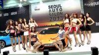 看的鼻血狂喷-上豪车赏美女首尔车展玩疯色迷主持