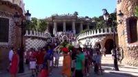 巴塞罗那风景 奎尔公园  高迪  园林-park-巴塞罗那