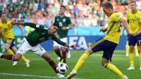 2018世界杯墨西哥VS瑞典精彩进球回放