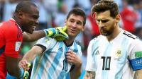 世界杯嘿未够12: 梅西第一福队尼日利亚 补时惊魂罗总裁也慌了