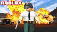 「妞宝宝」虚拟世界Roblox吃鸡战场 凶狠猎人四处追杀生存者 乐高小游戏