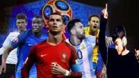 不唱不进球? 《周六夜现场》张杰用歌声助力2018俄罗斯世界杯#百变世界杯#