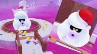 [宝妈趣玩]超级马里奥奥德赛★21: 巨胖音速雪人, 会吹龙卷风!