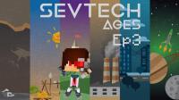 我的世界《SevTech: Ages 赛文科技多人模组生存Ep3 寻找村庄》Minecraft 安逸菌解说