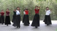 紫竹院广场舞——梦回草原(带歌词字幕), 荡气回肠的一支舞