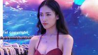 2018深圳内衣展 HUALA BEACHWEAR -高颜值泳装模特