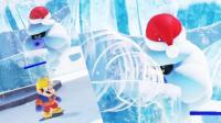 [宝妈趣玩]超级马里奥奥德赛★22: 小风太凉, 快冻成冰人了!