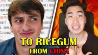 TO RICEGUM FROM CHINA  Ricegum你看好了 这是来自中国网友们的回应