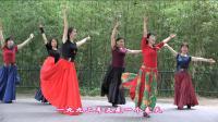 紫竹院广场舞——春天的故事(带歌词字幕), 芭蕾范儿的广场舞