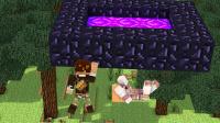 【大橙子&籽岷】双人解谜-传送门世界[我的世界Minecraft]