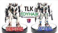 KL變形金剛玩具分享325 Toyhax 最終騎士 氮氣宙斯升級雷翼王