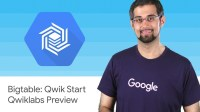 Bigtable: Qwik Start - Qwiklabs Preview