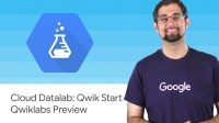 Cloud Datalab: Qwik Start - Qwiklabs Preview