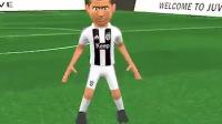 尤文球迷自制3D版C罗加盟仪式 身披CR7接受球迷山呼