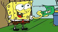 【路米】海绵宝宝智斗痞老板,海绵宝宝只用一美元就套路了蟹老板Ep3