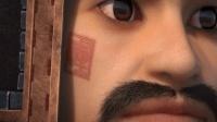 """观海策: 庞海将军昔日喝酒误事, 为了提醒自己, 他在脸上刺了个""""醒""""字"""