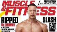 IFBB职业健体选手Anton Antipov拍摄新一期肌肉与健康杂志