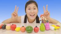 水果蔬菜切切看 小谷姐姐过家家游戏