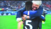1/4半决赛法国1: 0比利时精彩镜头2018.7.7