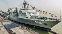 中国901补给舰用途巨大 吨位仅次于航空母舰