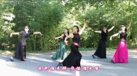 紫竹院广场舞——千古一醉(带歌词字幕), 京韵京味, 精彩漂亮!