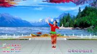 《小河淌水》优雅的广场舞, 白墙抠像视频制作-漫步作品