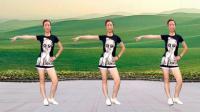 80后的经典《黄土高坡》动感时尚的32步广场舞, 勾起了太多回忆