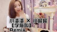小潘潘 X 小峰峰 - 学猫叫(DjYaha FutureBass Rmx 2018)