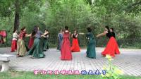 紫竹院广场舞——雪山阿佳, 优美的舞蹈加上队形的变换更好看了!