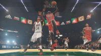 【布鲁】NBA2K15生涯模式:乔丹隔扣字母哥!准三双大胜(15)