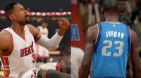 【布鲁】韦德vs乔丹!飞人半场爆砍20分!NBA2K15生涯模式(4)