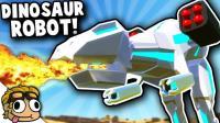 小飞象解说✘战地模拟器 机械恐龙无所不能! 威力堪比原子弹!