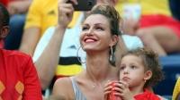 世界杯最美太太团:维特塞尔妻女携众太太加油助阵