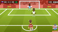 世界杯任意球足球赛,俄罗斯队轻松夺冠 #玩转世界杯#