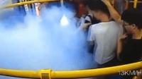 充电宝突然爆炸起火 48秒50名乘客安全转移